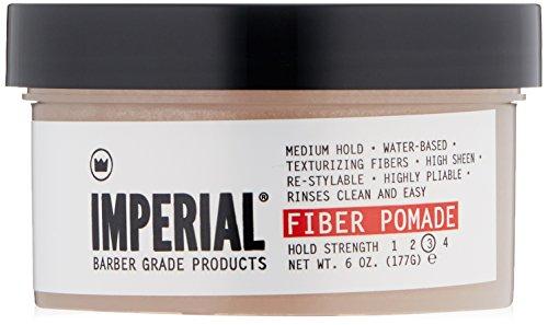 Imperial Barber – Fibre Pomade, tenue moyenne, Haute Brillance