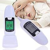 Mele 1 pz LCD Digitale a infrarossi Bambino Orecchio termometro Senza Contatto Orecchio & Fronte Temperatura del Corpo del Bambino Adulto Medico Febbre termometro
