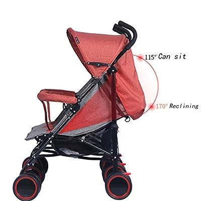 OCYE Twin Silla de Paseo gemelar/Carro gemelar/diseño Plegable Simple, Estructura Duradera, toldo Ajustable, Pedales, Cesta de Gran tamaño
