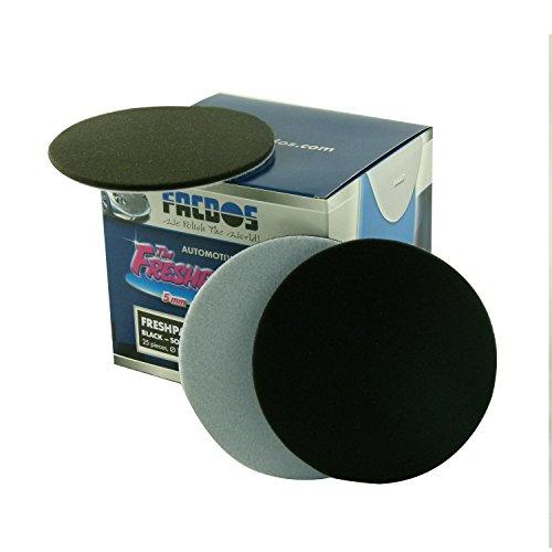 facdos-fresh-pad-schwarz-soft-oe-150mm-25-st-fur-hochglanz-anti-hologramm-polituren-weiche-polier-sc