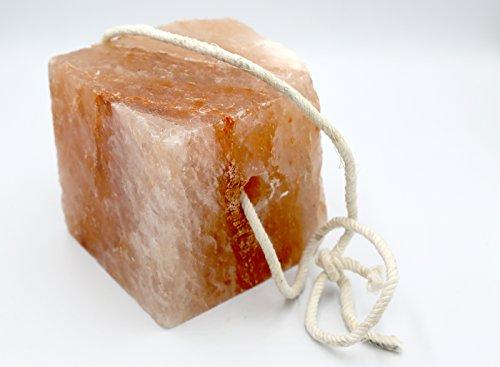 Mogul, Symbole de qualité Animal de sel Rose de l'Himalaya 4KG Bloc DE SEL DE LÉCHANT 100% Nutrition Naturelle et Pure pour Les Chevaux, Animaux de la Ferme