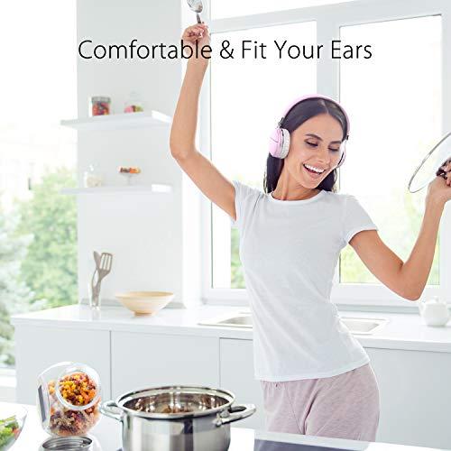Bluetooth Kopfhörer über Ohr, Tribit XFree Tune HiFi-Kopfhörer kabellos Wireless Kopfhörer mit satten Bass, 24 Stunden Spielzeit, 2 x 40 mm Treiber, Bluetooth 4.1 CSR Chips, 3,5 mm AUX Unterstützung - 3