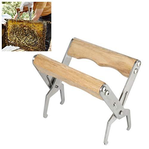 Gutyan Beehive Frame Grip Edelstahl Frame Gripper Frame Lifter Rahmenhalter Imkerzubehör -