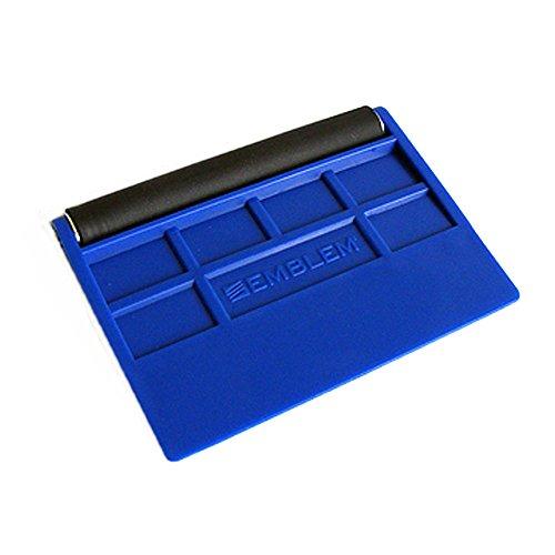 Emblme-Easy-Mount-Bleu-Raclette-de-emblme-avec-rouleau-en-caoutchouc