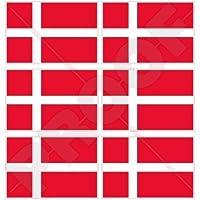 INSEL MAN Flagge ISLE OF MAN TT Races Fahne MANX UK Handy Mini-Aufkleber 40mm x6