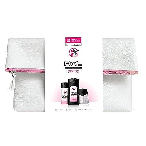 Axe Coffret Cadeau Trousse Eau de Toilette Déodorant + Gel