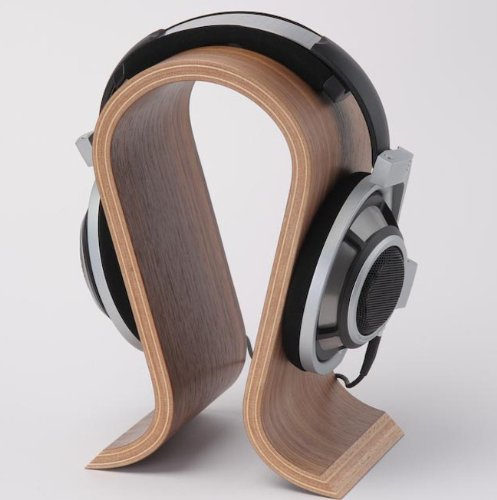 Hot sale Wooden Headphone Display stand Headphone Holder Headset Hanger Support for Brand headphone with good quality
