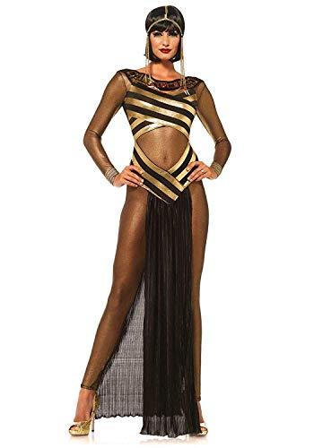(Frauen Sexy Göttin Isis Ägyptische Königin Halloween Kostüm Erwachsene Partei Phantasie Rollenspiel Kostüme Spielanzug Kleid)