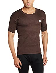 Rupa Thermocot Mens Synthetic Thermal Top (8903978492216_VOLCANO R-N H-S -95_Brown)