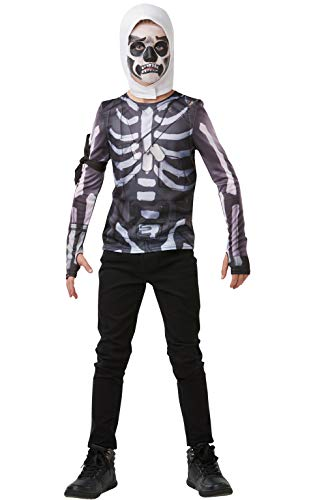 Rubie's Official Fortnite Skull Trooper Costume Kit, Childs -