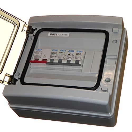 Unidad consumo IP65 interruptor aislador 100 amperios
