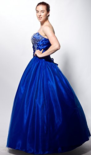 atopdress - Robe - Sans Manche - Femme Bleu Bleu Bleu - Bleu