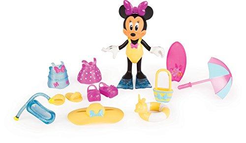 Minnie Mouse 182189MI4 Micky Maus und Freunde Beach Beautiful Fashion Puppe (Minni Maus Outfit)