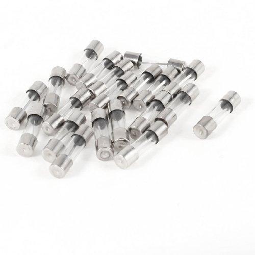 20Stück Schnell Blow Glas Röhre Sicherung 20A 250V 5MM X 20MM