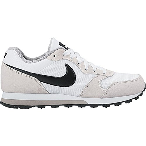 Nike Wmns Md Runner 2, Chaussures de Tennis Femme Elfenbein (White / Black / Wolf Grey)