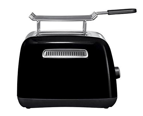 - KITCHENAID- Réf. : 5KMT221EOBKITCHENAID Toaster 2 tranches Noir Onyx de chez KITCHENAID
