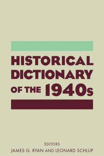 Historical Dictionary of the 1940s