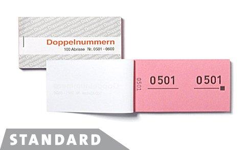 WOLF & APPENZELLER 750052 Doppelnummern gelb 01-500