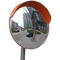 Espejo de Calle Curvo Convexo de Seguridad Transito de Angulo Ancho 180 Grados 60cm 457125