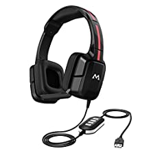 Mpow EG2 Gaming Headset for PC, Xbox one, PS4, Lightweight Wired Gaming Headphones, Laptop Computer 3.5mm USB Headset, 40mm Driver Stereo Sound, Noise Cancelling Microphone Over-Ear Headphone