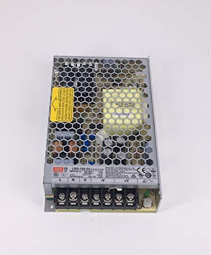 MEAN WELL-Netzteil für Überwachungskameras und LED-Lampen 150 W-24 VDC-6.5A Trafo für LED-Lampen 150 W-24 VDC-6.5A für Drucker und LED-Leuchtmittel 150W-24VDC-6.5A WORLDLEDITALY LED ILLUMINAZIONI
