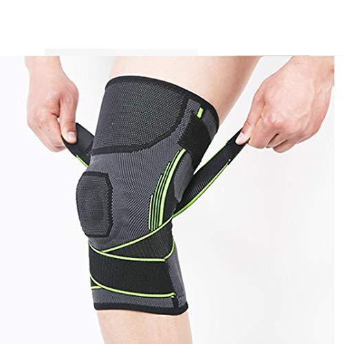 SCB Kompression Kniehülse Knieorthese für Laufen, Crossfit,
