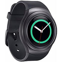 "Samsung Gear S2 - Smartwatch (pantalla 1.2"", 4 GB, Dual-Core 1 GHz, 512 MB RAM, Tizen), color negro- Versión Extranjera"