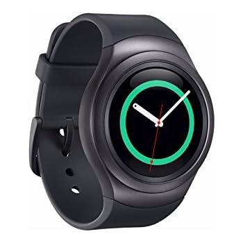 "Samsung Gear S2 - Smartwatch (pantalla 1.2"", 4 GB, Dual-Core 1 GHz, 512 MB RAM, Tizen), color negro"