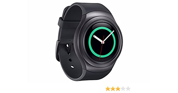 Pack Samsung Gear S2 Sport Montre Connectée Noir + Bracelet Gris Foncé: Amazon.fr: High-tech