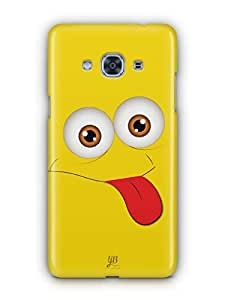 YuBingo Funny Smiley Mobile Case Back Cover for Samsung J3 Pro