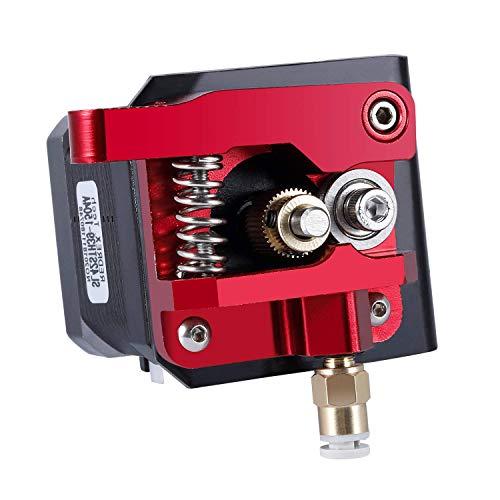 Redrex Upgraded Aluminium Bowden Extruder 40 Zähne MK8 Drive Ausrüstung für Creality CR-10 Ender 3 Serie und Anderen Heizplatte Prusa 3D Drucker [Linke Hand]