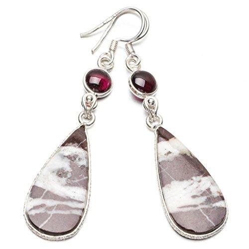 stargems-tm-naturel-jaspe-rouge-et-amethyste-argent-sterling-925-boucles-doreilles-2-1-102-cm
