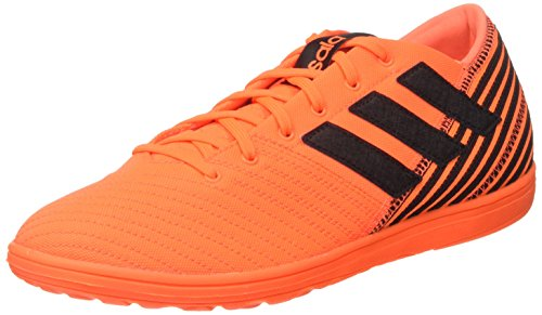 new product 43191 1c38b adidas Nemeziz 17.4 In Sala, Zapatillas de Fútbol para Hombre, Multicolor  (Solar Orange