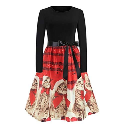 Bluelucon Damen Kleid Lose Minikleid Gothic Kleid Cocktail Party Kleid Damen Langarm Kapuzenpullover Sweatjacke Hoody Tunika Unregelmäßige Hoodiekleid