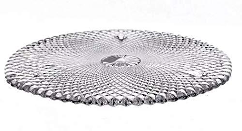 Patisserie Tortenhaube Tortenplatte Tortenständer Karo 28 cm