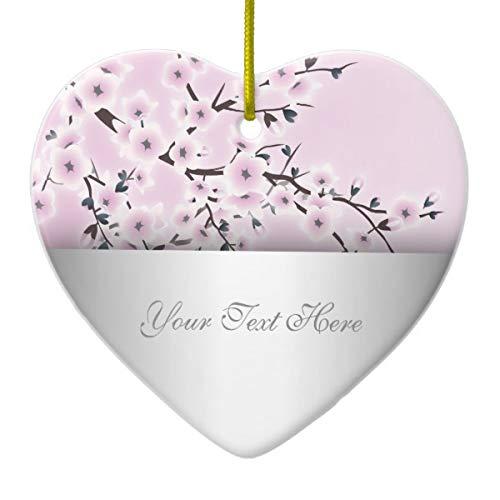 Tamengi Kirschblüte aus Keramik, Altrosa - Alte Welt-stil Möbel