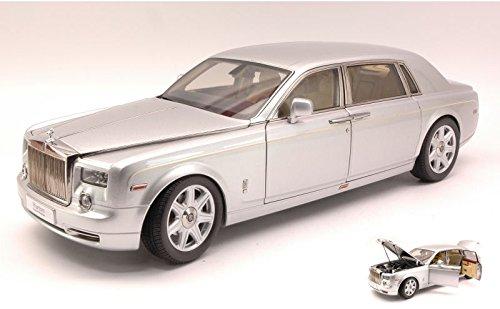 rolls-royce-phantom-extende-wheelbase-2012-silver-118-kyosho-auto-stradali-modello-modellino-die-cas