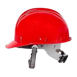 5 Bauhelm rot Schutzhelm Helm Arbeitsschutzhelm