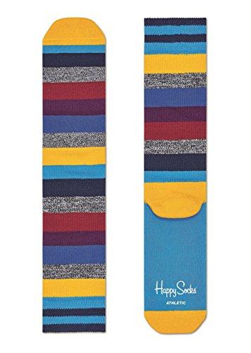 Preisvergleich Produktbild Happy Socks - Happy Socks Athletic Stripe Sock ATSTR27-9003 - ATSTR27-9003 - Man Eur 41-46 - US 8-12 - UK 7,5-11,2 - JPN 26-29,5