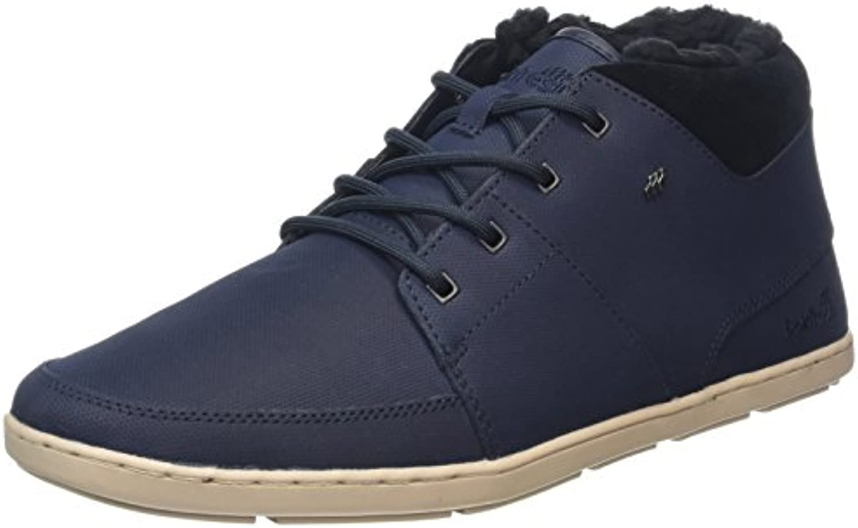 Boxfresh Herren Cluff Hohe Sneaker  Blau (Navy)  43 EU