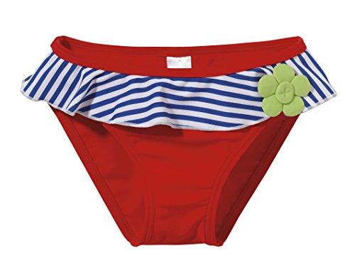 Beco Kinder Badehöschen-Flower, Rot/Blau, 80, 4635 (Strand-badehose Für Mädchen)