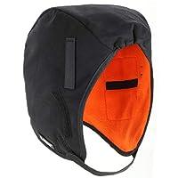 Ergodyne N-Ferno 6850 Thermal Hard Hat Winter Liner, Black