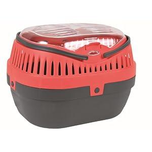 Trixie 5904 Traveller Pico Transportbox, 30 × 21 × 23 cm,farblich sortiert