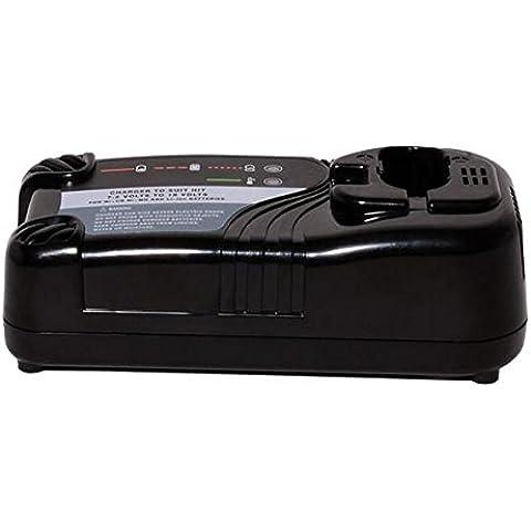 Sila 340143 - Caricabatterie universale per hitachi 7.2 - acciaio inox 18/8 110 - 240 v, ni-cd / ni-mh / li-ion - Caricatore Ricaricabile Dewalt