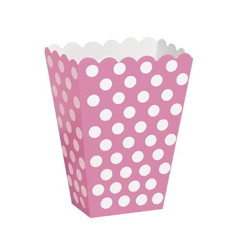 super-cool-retro-polka-dot-tableware-in-6-gorgeous-colours-hot-pink-treat-boxes