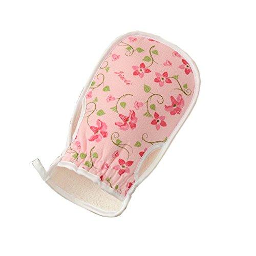 Stylish Badesachen Bad Handschuhe Handtuch Körperwäsche Peeling Handschuhe, 02