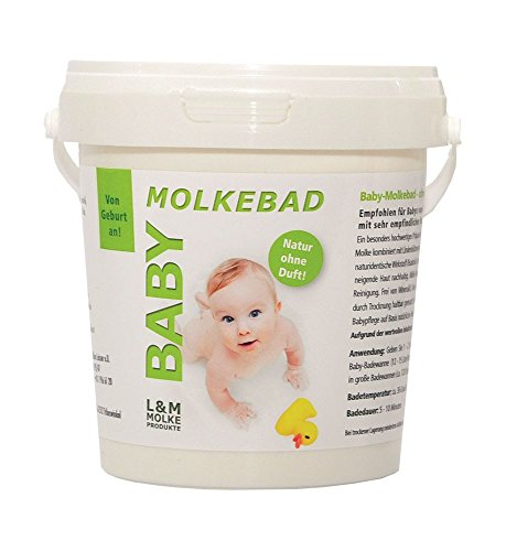 Metzler Molke-Babybad Parfumfrei für Babys und Kleinkinder, 500 Gramm
