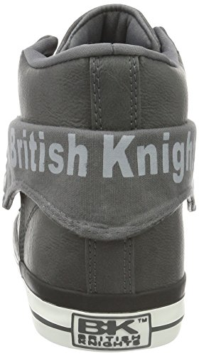 British Knights Roco, Baskets hautes homme Grau (Dk Grey 10)