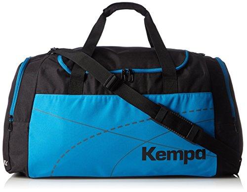 Kempa Teamline Sporttasche Schwarz/Kempablau
