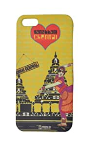 Pimento IPHCHE0001 Urban Masala Case for Apple iPhone 5/5S (Multicolor)